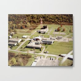 Abandoned Reactor Facility Metal Print