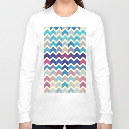Chevron Pattern VIII Long Sleeve T-shirt