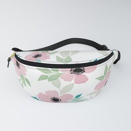 Pink Floral Fanny Pack