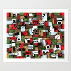Not Home Alone Art Print