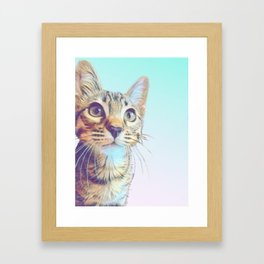 Gouda Blue Framed Art Print