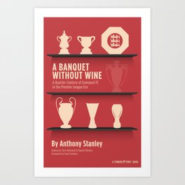 A Banquet Without Wine Art Print
