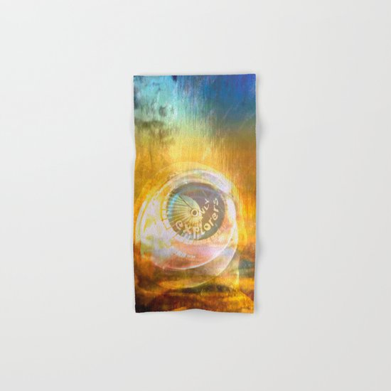 EXPLORERS ONLY / The Biggest Spatial Eye / 26-08-16 Hand & Bath Towel