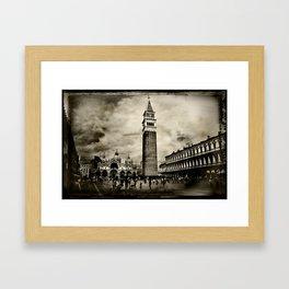 Vintage Venice Framed Art Print