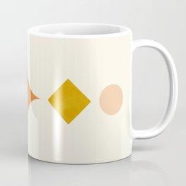 Abstraction_Geometric_Moon_Star_Shape_Minimalism_011W Coffee Mug