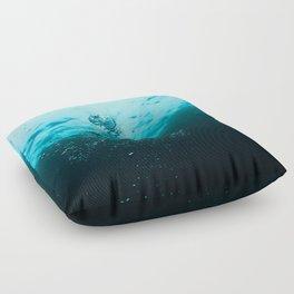 Underwater Bubbles Floor Pillow