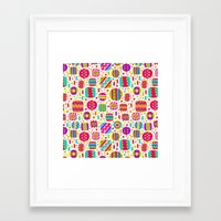 carnival Framed Art Prints featuring Carnival by Valendji