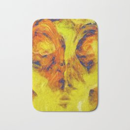 Abstract Art by Tito. The Face Bath Mat