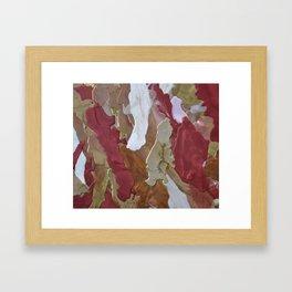 Deep Rich Something Framed Art Print