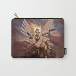 Steampunk Winged Veronika Carry-All Pouch