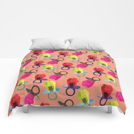 love ring Comforters