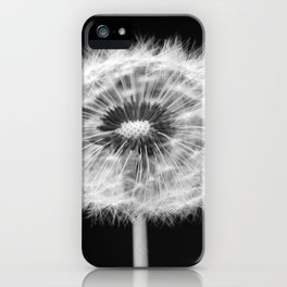 missing dandelion iPhone Case