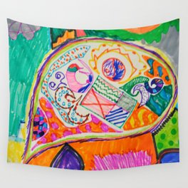 Pop Up Art Wall Tapestry