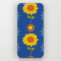 ukraine iPhone & iPod Skins featuring Sunflowers of Ukraine by rusanovska
