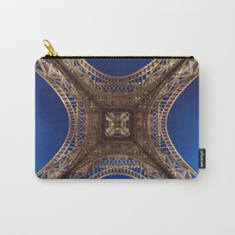 Eiffel Tower From Below Carry-All Pouch