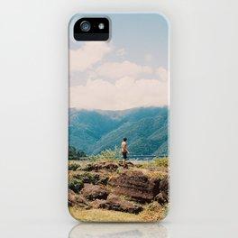 Caeleb at Lake Kawaguchi iPhone Case