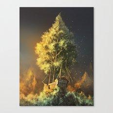 Second Life Canvas Print