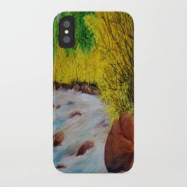 Rushing River iPhone Case