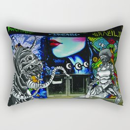Battle of Brick Lane Rectangular Pillow