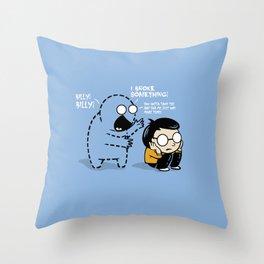 Worst Imaginary Friend Ever Throw Pillow
