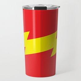 """Belts of Justice: Scientist Series """"The Speedster"""" Travel Mug"""