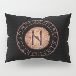 Hagalaz - Elder Futhark rune Pillow Sham