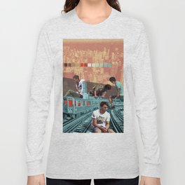 Chicago Red Line Long Sleeve T-shirt