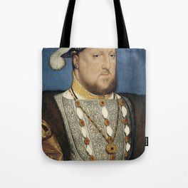 Hans Holbein the Younger - Portrait of Henry VIII Tote Bag