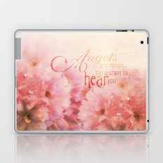 Pink Cherry Blossom for Angels Laptop & iPad Skin