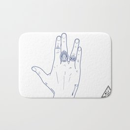 Make My Hands Famous - Part V Bath Mat