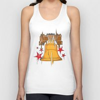 tinker bell Tank Tops featuring Bell by rockwood