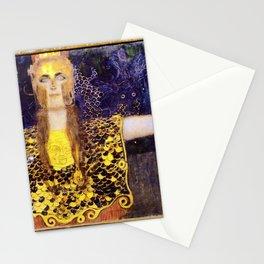 Gustav Klimt - Pallas Athena - Digital Remastered Edition Stationery Cards
