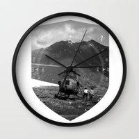 arizona Wall Clocks featuring Arizona by WeLoveHumans