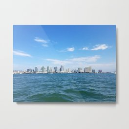 Downtown San Diego from the Bay Metal Print
