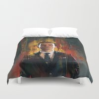 moriarty Duvet Covers featuring J.Moriarty by Wisesnail