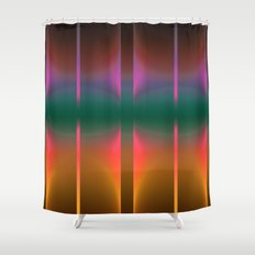 COLORFUL VIBES 2 Shower Curtain