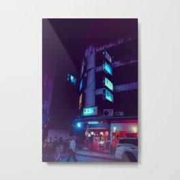 Neonsigns / Bladeunner Vibes / Bangkok Metal Print