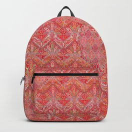 Kashmir North Indian Moon Shawl Print Backpack
