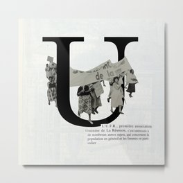 U for Union Metal Print