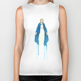 The Virgin Mary Biker Tank