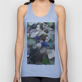 Sea Glass Assortment 1 Unisex Tank Top