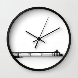 Clevedon Pier Wall Clock