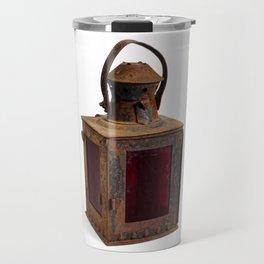 Old rusty lantern Travel Mug