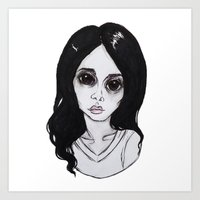 ultraviolence Art Prints featuring ULTRAVIOLENCE by Julio César