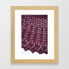Striated Framed Art Print