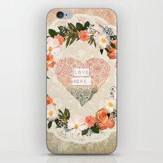 Love More iPhone & iPod Skin