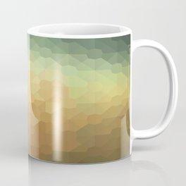 Nature's Glowing Geometric Abstract Coffee Mug