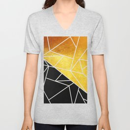 Coal and Gold Unisex V-Neck