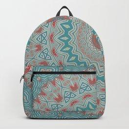 Tribal Medallion Teal Backpack