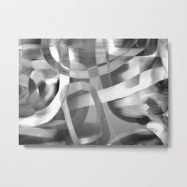 Jujube Stew -- grayscale Metal Print
